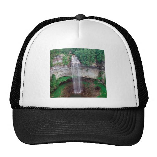 Waterfall Fall State Park Pikeville Mesh Hat