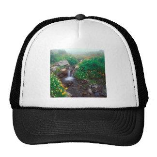 Waterfall Flowing Mist Olympic Park Trucker Hat