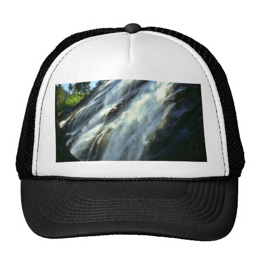Waterfall From Beneath Large Tree Mesh Hats