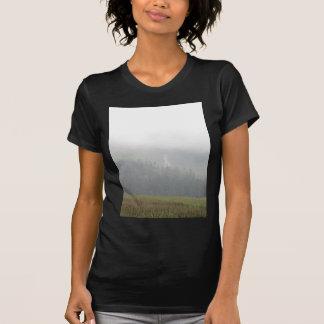 waterfall grass sky tee shirt
