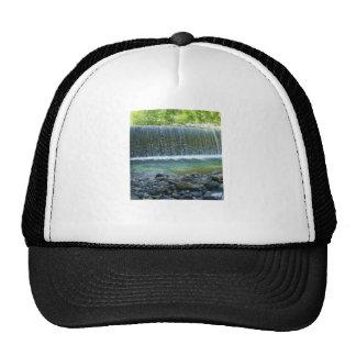 waterfall-hat cap