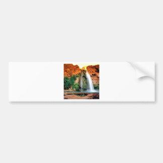 Waterfall Havasu Arizona Bumper Sticker