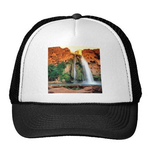Waterfall Havasu Arizona Trucker Hats