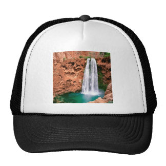 Waterfall Havasupai Mooni Grand Canyon Arizona Cap