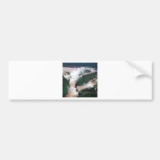 Waterfall Iguassu Brazil Argentina Bumper Stickers