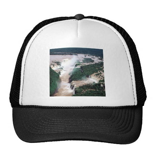 Waterfall Iguassu Brazil Argentina Hat