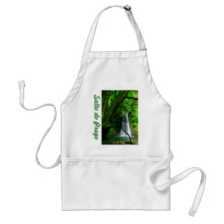 Waterfall in Azores islands Standard Apron