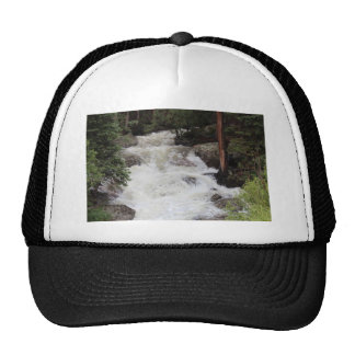 Waterfall in Rocky Mountain National Park Cap