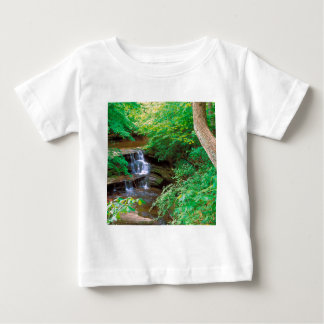 Waterfall In Starved Rock State Park Illinois Tshirts