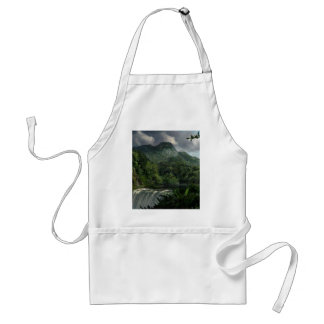 Waterfall in the Mountains Jungle Aprons