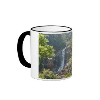 Waterfall in the nature ringer mug
