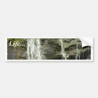 Waterfall In Waterstream Bumper Stickers