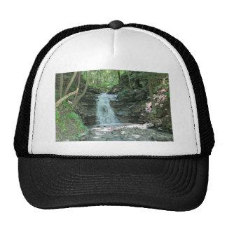Waterfall in Woods Mesh Hats