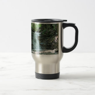 Waterfall in Woods Coffee Mugs