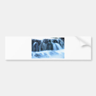 Waterfall jpg bumper stickers