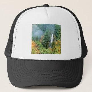 Waterfall Latourell Columbia Trucker Hat
