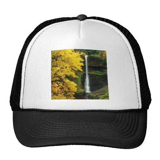Waterfall Middlefalls Silver Falls Hats