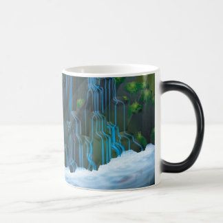 Waterfall Morphing Mug