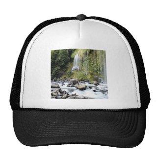 Waterfall Mossbrae Falls Stream Trucker Hat