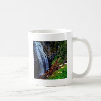 Waterfall Mount Rainier Coffee Mug