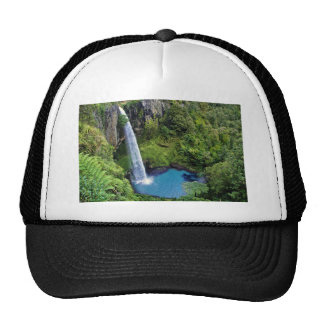 Waterfall Nature Park Blue Water Forest Destiny Cap