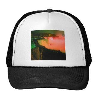 Waterfall Niagaraat Night Mesh Hats