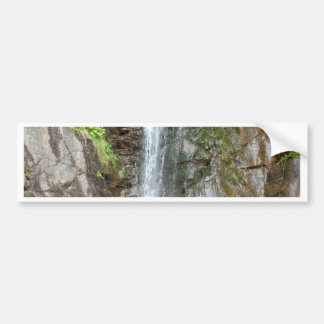 Waterfall of the Finsterbach at the Ossiacher lake Bumper Sticker