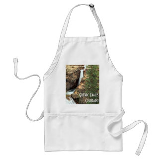 Waterfall on the Gothic Trails, Colorado Adult Apron