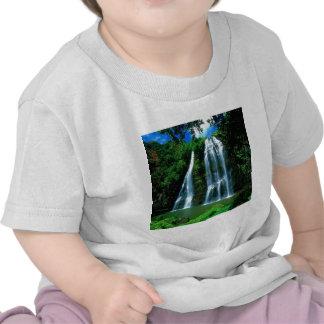 Waterfall Opaekaa Kauai Hawaii T Shirt
