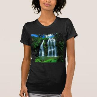 Waterfall Opaekaa Kauai Hawaii Tee Shirt
