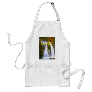 Waterfall painting aprons