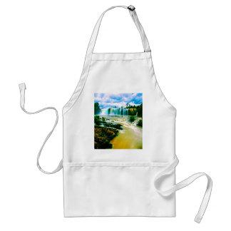 waterfall peace joy and motion standard apron