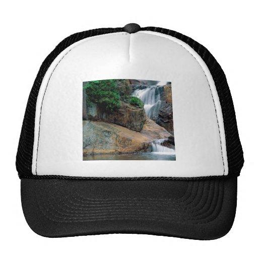 Waterfall Peaceful Colorado Trucker Hats