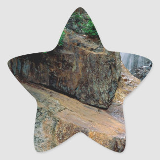 Waterfall Peaceful Colorado Star Stickers