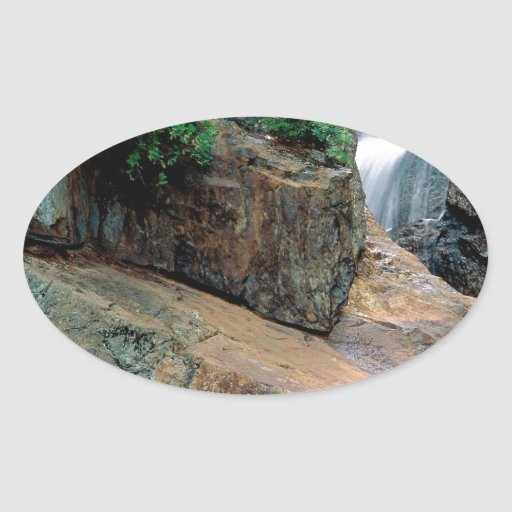 Waterfall Peaceful Colorado Stickers