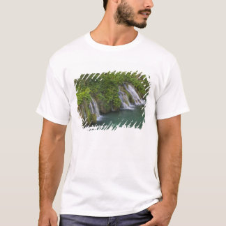 Waterfall, Plitvice Lakes National Park and T-Shirt