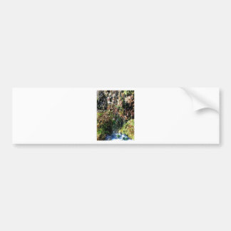 Waterfall products bumper sticker