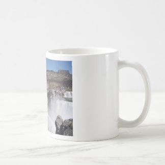 Waterfall Rainbow Basic White Mug