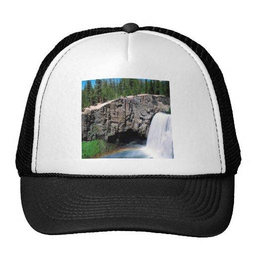 Waterfall Rainbow Falls Trucker Hat