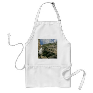 Waterfall Sandy Cliffs Heights Adult Apron