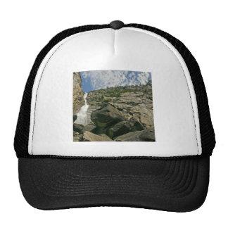 Waterfall Sandy Cliffs Heights Mesh Hat