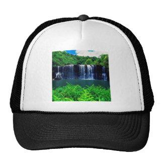 Waterfall Secluded Kauai Hats