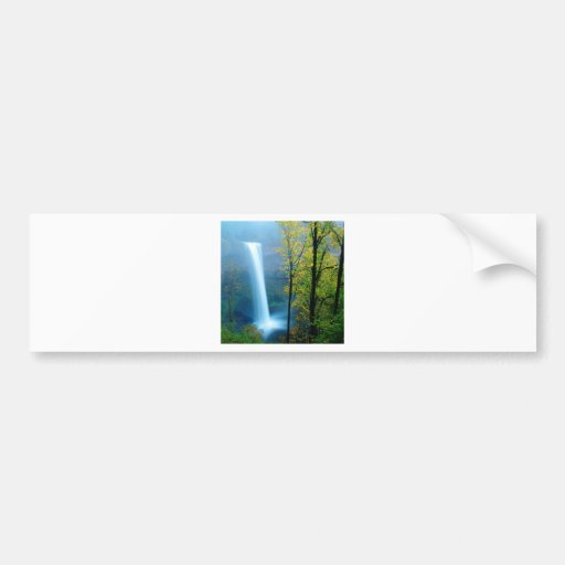 Waterfall South Silver State Park Bumper Sticker