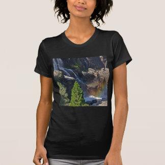 Waterfall Stream Rainbow Falls T Shirts