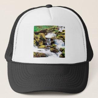 Waterfall Three Sisters Wilderness Willamette Trucker Hat