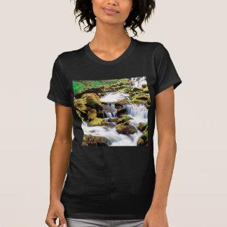 Waterfall Three Sisters Wilderness Willamette Tshirts