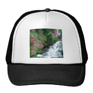 Waterfall Tochigi Prefecture Nikko Japan Mesh Hats