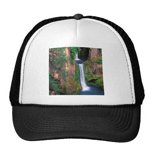 Waterfall Toketee Falls Mesh Hat