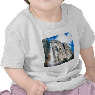 Waterfall Upper Yosemiteyosemite Park T Shirt