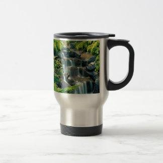 Waterfall Vancouver British Columbia Coffee Mugs